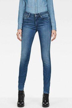 g-star skinny jeans »shape high super skinny« blauw