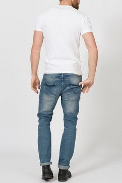 petrol industries tapered jeans »tymore« blauw