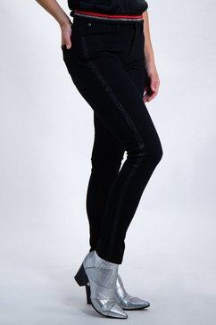 skinny jeans van garcia zwart
