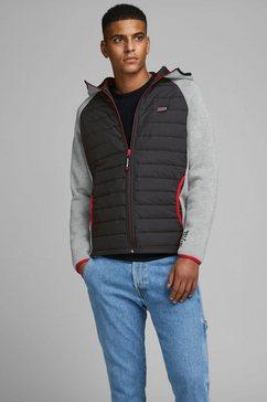 jack  jones gewatteerde jas »toby jacket« zwart