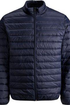 jack  jones gewatteerde jas »eric puffer collar« blauw