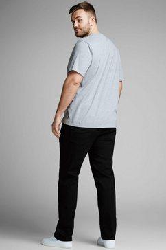 jack  jones slim fit jeans »tim« zwart