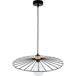 britop lighting hanglamp »antonella pendelleuchte 1xe27 60w«, zwart
