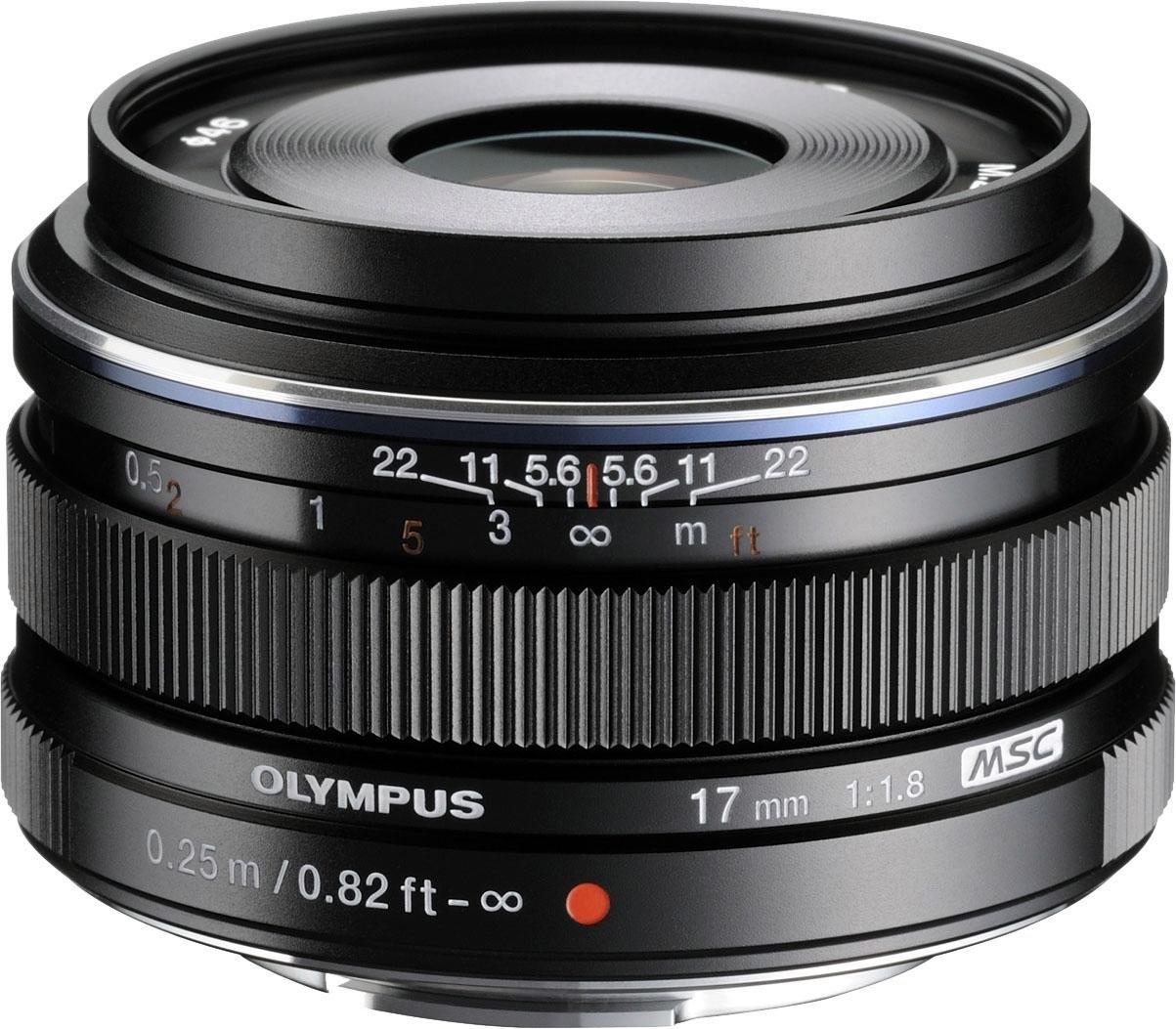 Olympus Groothoekobjectief M.ZUIKO DIGITAL 17 mm F1.8 nu online bestellen