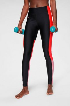 under armour functionele tights »hg armour perforation inset leggings« zwart