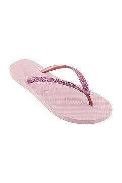 havaianas teenslippers »slim glitter« roze