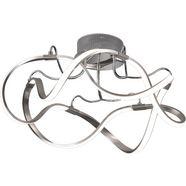 fischer  honsel led-plafondlamp »naxos«, zilver