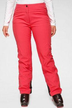 maier sports skibroek elastisch en ademend rood
