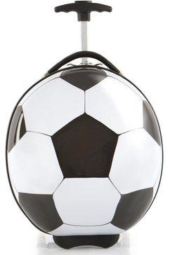 heys kinderkoffer voetbal, 41 cm wit