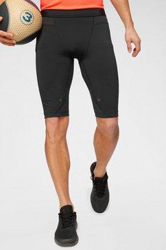 under armour short »ua hg rush long shorts« zwart