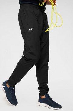 under armour trainingsbroek »sportstyle tricot jogger« zwart