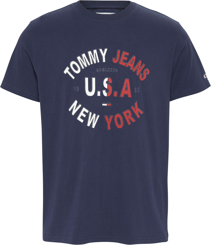 Tommy Jeans T-shirt »TJM ARCHED GRAPHIC TEE« bestellen: 30 dagen bedenktijd