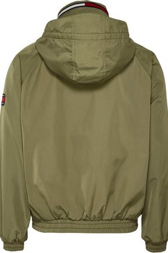 tommy jeans blouson »tjm retro bomber jacket« groen