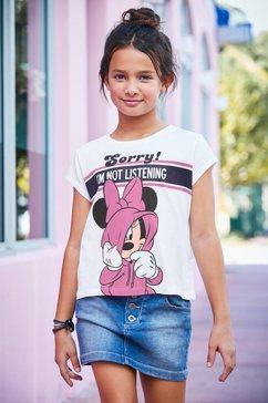 disney t-shirt »minnie mouse« wit