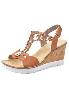 rieker sandaaltjes bruin