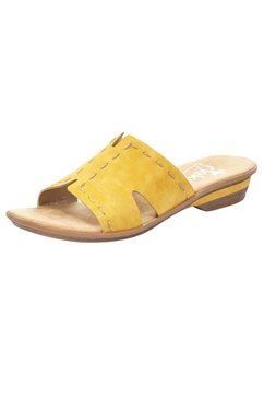 rieker slippers geel