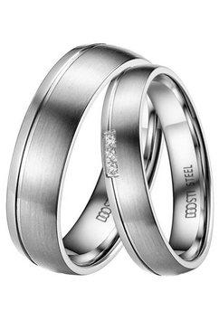 doosti trouwring »st-038-d, st-038-h, dainty« zilver