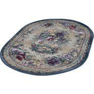 theko oosters tapijt »gabiro 72«, ovaal, hoogte 12 mm, machinaal geweven multicolor