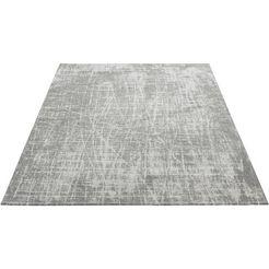 sehrazat vloerkleed »carina 6920«, sehrazat, rechthoekig, hoogte 2 mm, machinaal geweven grijs