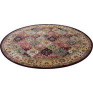 theko oosters tapijt »moritz«, rond, hoogte 10 mm, machinaal geweven rood