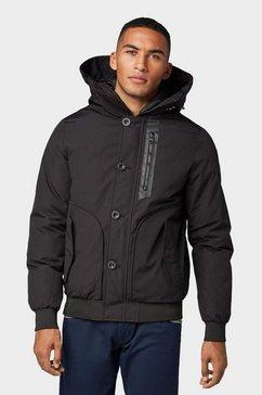 tom tailor outdoorjack »blouson-jacke« zwart