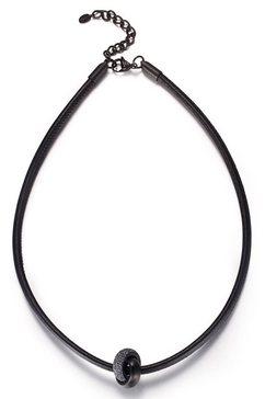 kingka ketting met hanger »sln8307bgy« zwart