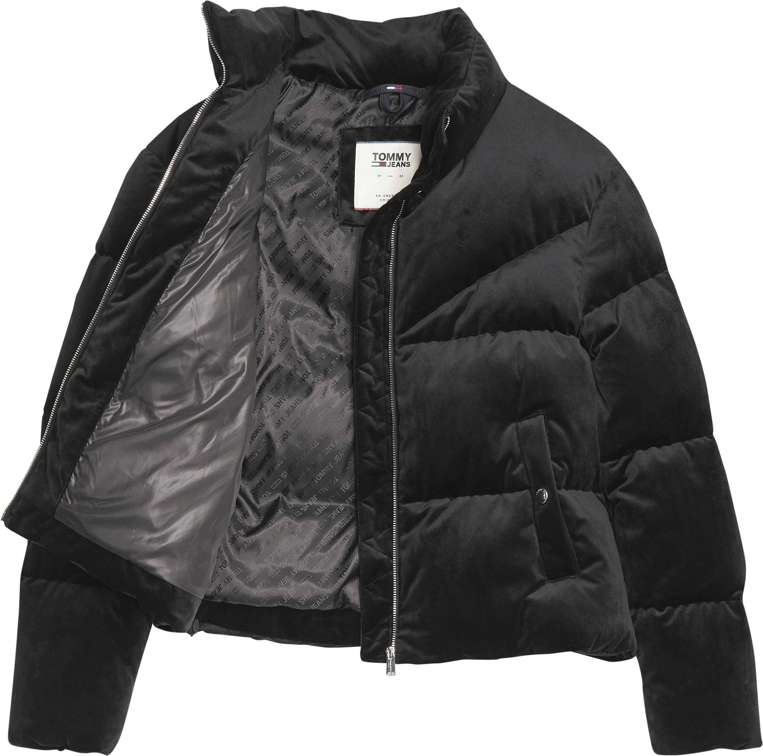 Tommy Jeans Gewatteerde Jas Tjw Velvet Puffa Jacket Nu Online Bestellen - Geweldige Prijs