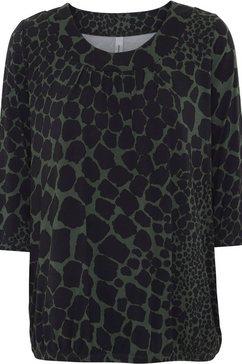 soyaconcept shirt met 3-4-mouwen »marciaaop83« groen