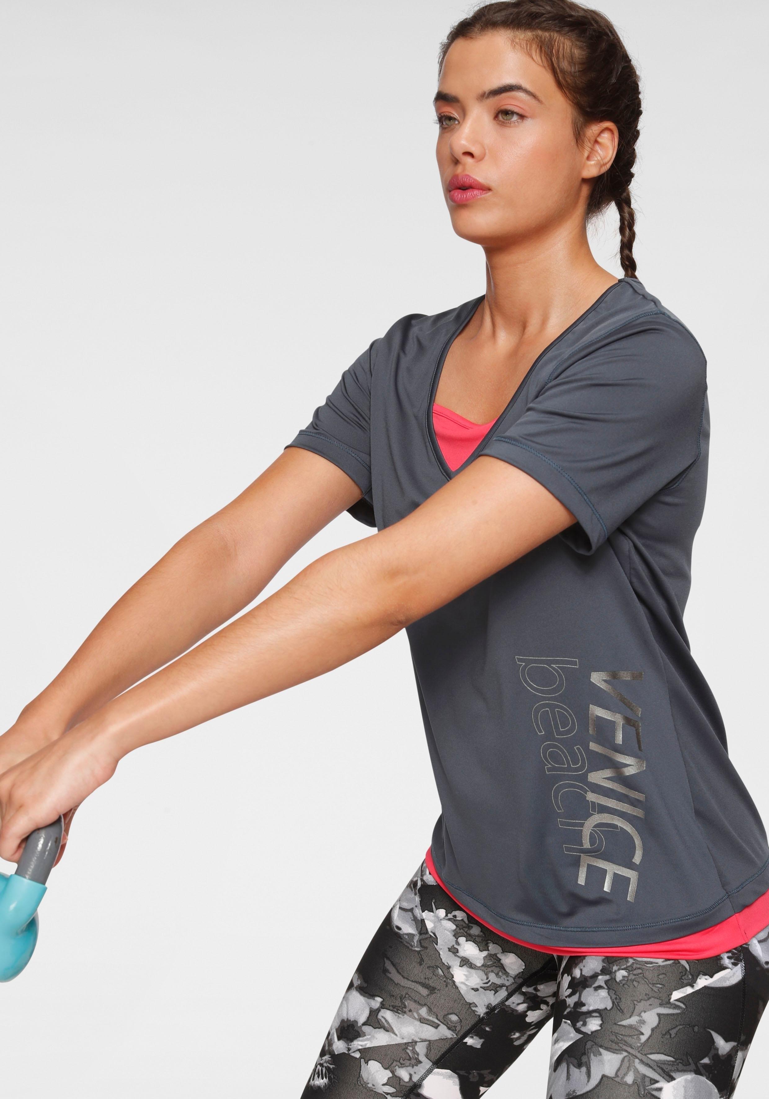 Venice Beach T-shirt in 2-in-1-stijl nu online kopen bij OTTO