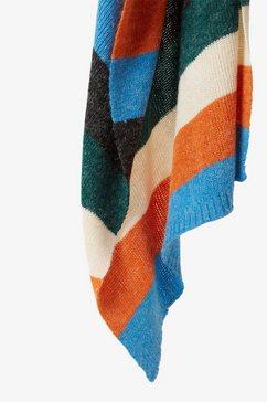 tom tailor denim modieuze sjaal »schal im blockstreifen-style« multicolor