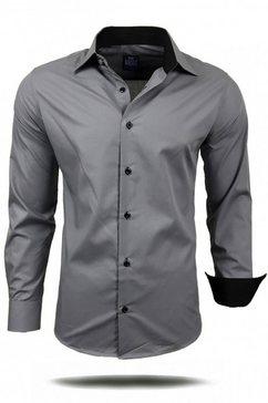 rusty neal hemd »44-1« grijs