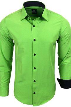 rusty neal hemd »44-1« groen