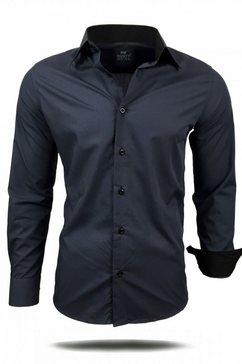 rusty neal hemd »44-1« zwart