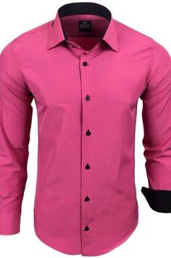 rusty neal hemd »44-1« roze