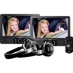 lenco »mes-415« draagbare dvd-speler schwarz