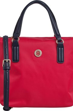 tommy hilfiger tas »poppy small tote« rood