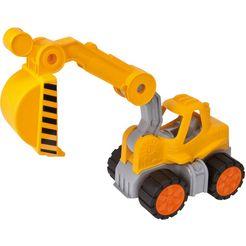 big speelgoed graafmachine geel