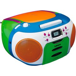 lenco stereo-cd-speler scd-971 multicolor