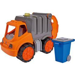big speelgoed-vuilniswagen big power worker vuilniswagen oranje