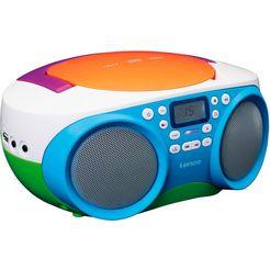 lenco stereo-cd-speler »scd-41« (ukw-radio) multicolor