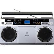 lenco »scd-580« cd-radiorecorder (fm-tuner) zilver