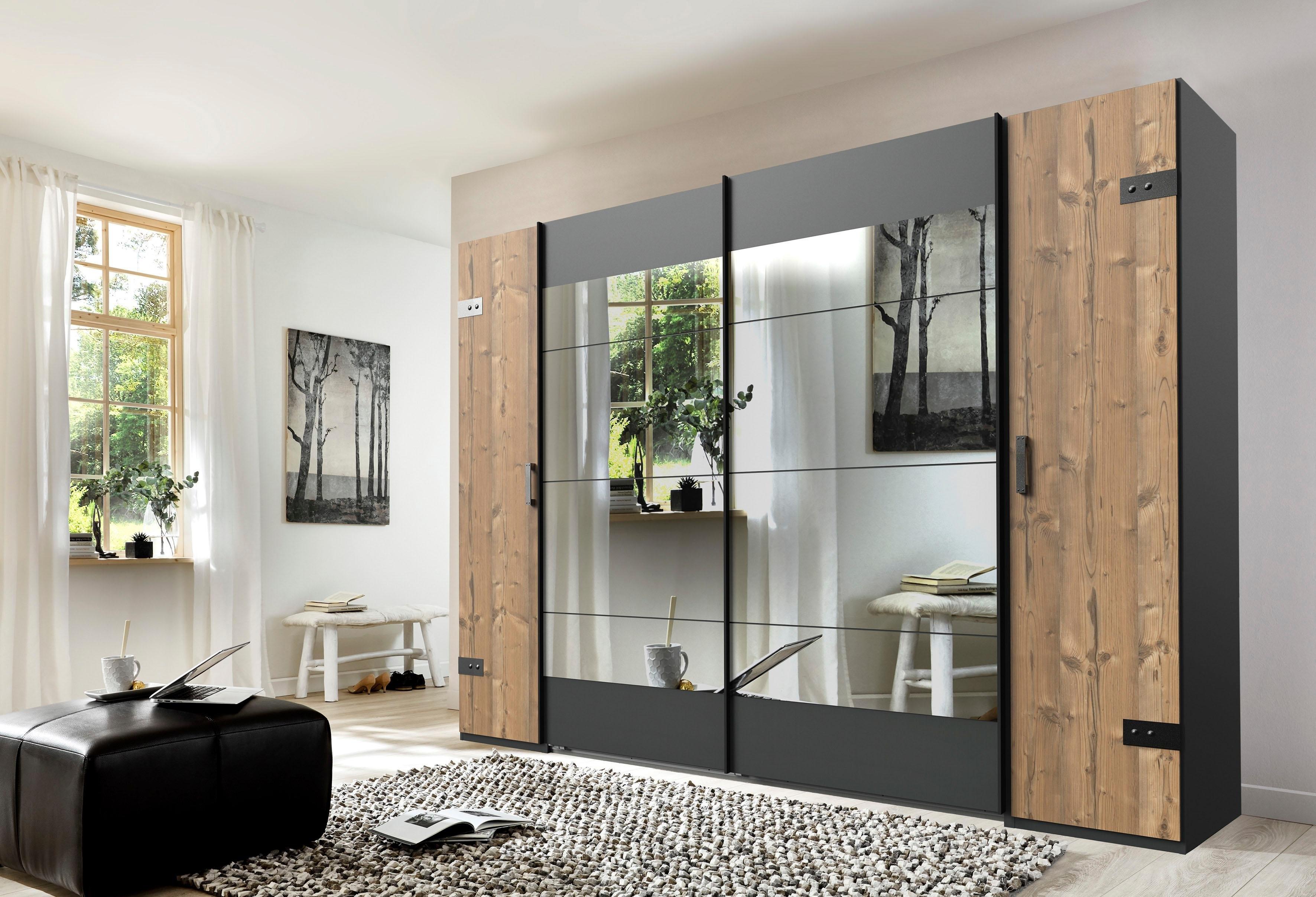 Wimex zweefdeurkast Stockholm met spiegel goedkoop op otto.nl kopen
