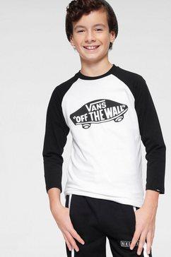 vans shirt met lange mouwen »otw raglan boys« wit
