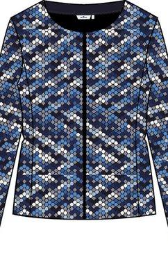 tom tailor korte blazer blauw