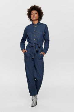 only denim jumpsuit blauw