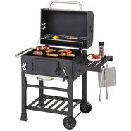 konifera houtskoolbarbecue »belcarra« bxdxh: 102x102x60 cm zwart