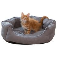 abuki honden- en kattenbed »linus«, bxl: 53x63 cm grijs