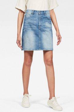 g-star raw jeansrok »3301« blauw