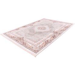 me gusta vloerkleed »akropolis 500«, me gusta, rechthoekig, hoogte 12 mm, machinaal geweven roze