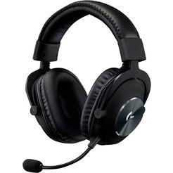 logitech games »pro x gaming headset« gaming-headset zwart
